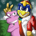 DeDeDe and Escargoon by sleet-the-wolf
