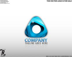 Logo 25 - Blue Triangle by rixlauren