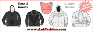 Pokemon Black and White Hoodie by AniFashion