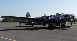 Boeing B-17 Parked by shelbs2