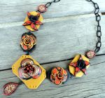 Statement Necklace by Petal Cove by PetalCove