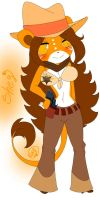 .:Shey The Sheriff Lion:.HTF by Rossy-CHAN