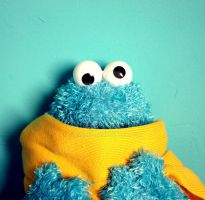 Cold Cookie Monster by ZoeWieZo
