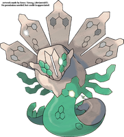 Shiny Zygarde (Official) by pimmermen