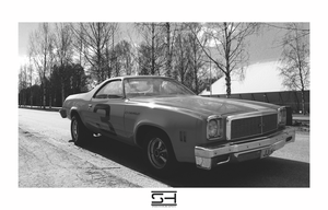 El Camino - BnW Series by Styrox-Art