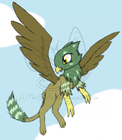 My Little Griffin OC: Audrey by TheEpicFailure