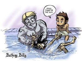 DnD: Bathing Billy by Bilious