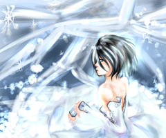 Inside my fear is nothing but ice by Venice-kun