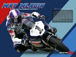Gixxer.com calendar 1 of 12 by TreborDesigns