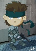 Metal Gear Solid Snake by kevinbolk