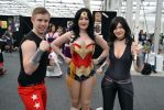The Wonder Family at 2014 Sydney Oz Comic Con by rbompro1