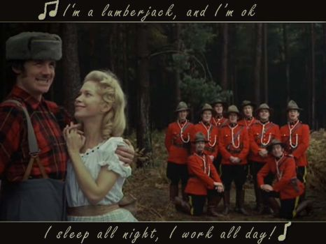Lumberjack Song by Jackieale