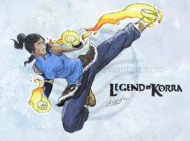 Avatar Korra by friedChicken365