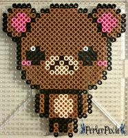 Cute Bear by PerlerPixie