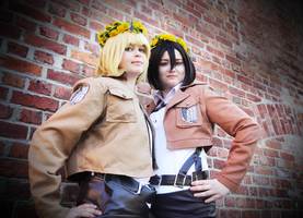 SnK - Flower power by ReconGirl