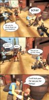 TF2 Comic: Meet Scout's mom by 33482
