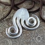 Double Spiral Fork Pendant by Doctor-Gus