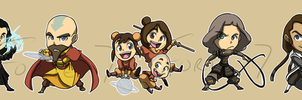 Stickers: Avatar Legend of Korra by forte-girl7