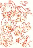 Expression Concept: Snarky by ludicrousy