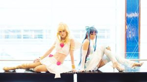 Angels - Panty and Stocking by Mostflogged