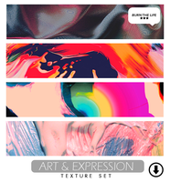 Art and Expression | Texture Pack by Burn-the-life