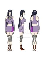 Hinata's outfit by ButterflyFire