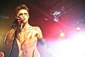 Black Veil Brides in Poland by Szyna1322