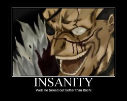 Kenpachi and Insanity by OrangeLineDevil2