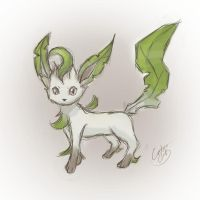 The Adorible Shy one ~ Leafeon by NAD-LifeOfficial