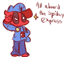 Spidey express by Spider-Toast