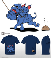 Mythical Pets TShirt Challenge by Foxeaf