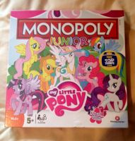 MLP Junior Monopoly by extraphotos