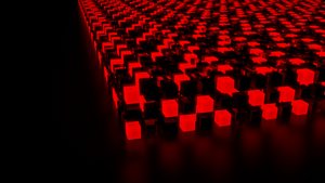 Red Cube Wallpaper by racerxonclar