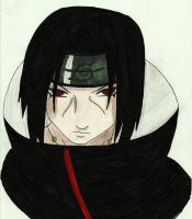Uchiha Itachi by Mischievous-Princess