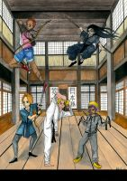 Sports Anime-Martial Arts-Contest Entry by hatoola13