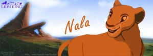 Nala Lion Facebook Timeline cover by KovuOat