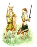 Redwall Warriors by Moiji