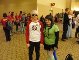 Dave Strider and Meulin Leijon by Elemental-wyvern
