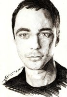 Jim Parsons by tahiz