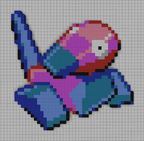#137 Porygon by PkmnMc