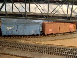 RED + BLU TF2 Boxcars by Atticus-W