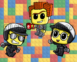 Lego Movie chibis part 2 by Kasandra-Callalily