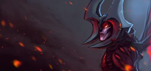 Aatrox by fivetinsoldiers