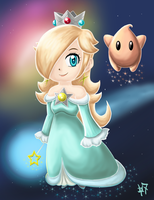 Rosalina - Protector of Luma by Heroine-of-Time-7