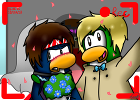 .::Just Got Married::. by AppleandPenguinlover