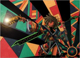 Sword Shooter color by Genso-x