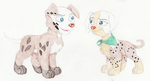 Puppies for Phantom by The101stDalmatian