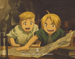 .:. FMA Brotherhood .:. by NaruHina1526