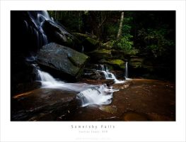 Somersby Falls Full View by MattLauder