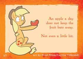 Sample Applejack Fortune by Pixel-Prism